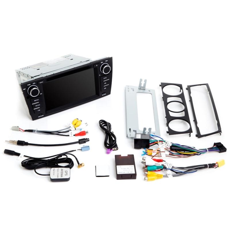 2G RAM 1 Din Android 9.0 Car DVD Player For BMW E90/E91/E92/E93 Navigation Radio Multimedia 3 Series GPSAudio 2+32GB IPS
