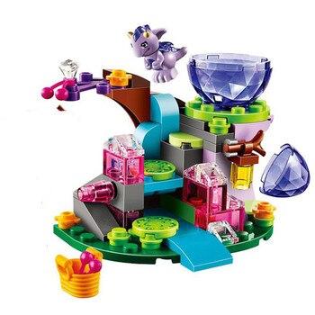 BELA 10499 80 piezas Hada elfos Emily Jones y el bebé viento dragón bloques de construcción juguetes para niña regalo Compatible 41171