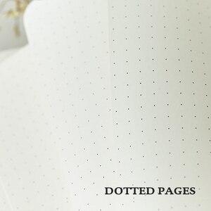 Image 5 - Muziek A5 Gestippelde Notebook Dot Grid Journal Hard Cover 80gsm Travel Planner Dagboek