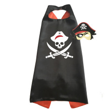 Pirate Costume Boys Halloween Costumes Captain Jack Cosplay Capes with Masks for Kids Birthday Party