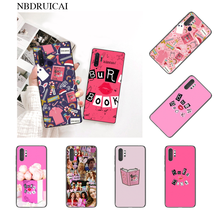 NBDRUICAI Burn Book Mean Girls Kiss Coque Shell Phone Case for Samsung Note 3 4 5 7 8 9 10 pro A7 2018 A10 A40 A50 A70 J7 2018(China)