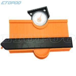 "Image 5 - 250mm 10 ""/120mm 5"" profil kopya kontur ölçer 10 ""kendinden kilitli genişletmek teksir standart ahşap markalama döşeme laminat fayans Tools"