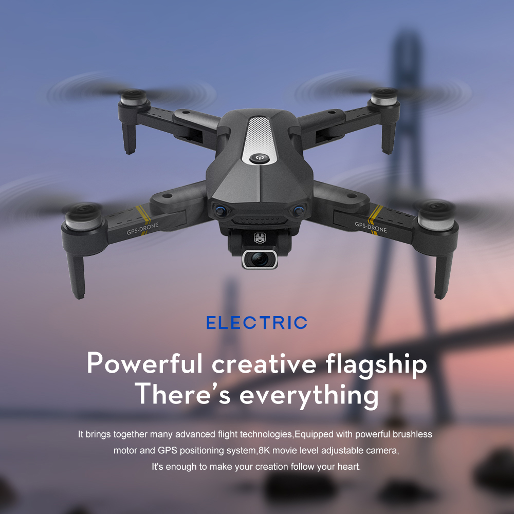 K80 Pro GPS Drone 4K Professional HD Dual Camera Anti Shake Aerial Photography Brushless Foldable Quadcopter RC Distance 1200M 2