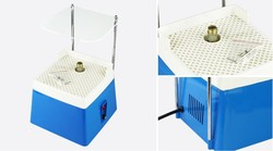 Mini Automatic Water stained Glass grinder DIY Desktop glass corner grinding machine Household tool