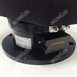 Image 4 - ヘビーデューティ 12 キロ負荷電動パンチルトスキャナー自動ptz水平垂直回転屋外防水cctvカメラサポート