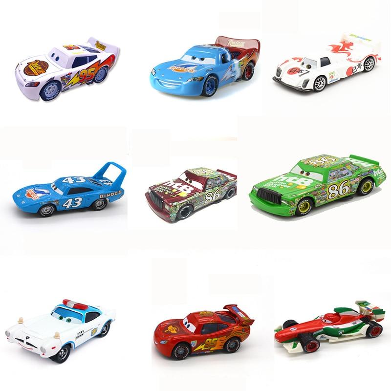 Disney Pixar Car 3 Lightning McQueen Racing Family Family 39 Jackson Storm Ramirez 1:60 Die Cast Metal Alloy Children's Toy Car