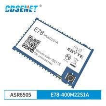 Módulo lorawan asr6505 lora E78-400M22S1A 433 mhz soc sx1262 stm8l152 mcu lpwan smd iot transceptor ipex