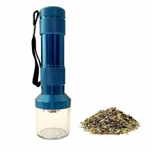 New HERB / SPICE GRASS Tobacco Herb Aluminum Electric Grinder Crusher Smoke Grinders Quickly For Smoking Pipe