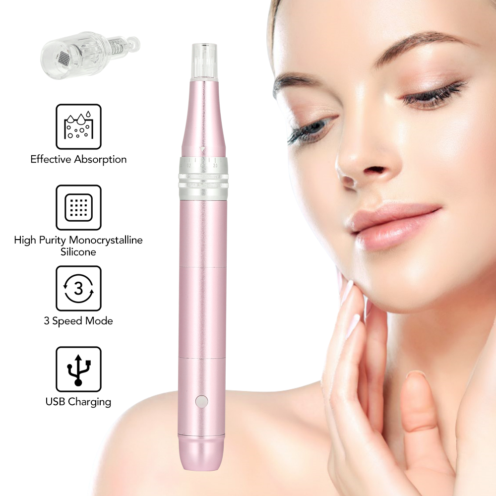 Electric Facial Roller Instrument <font><b>Skin</b></font> Tightening Remove Scar Reduce Wrinkles <font><b>Professional</b></font> <font><b>Skin</b></font> <font><b>Care</b></font> <font><b>Tools</b></font> Beauty Device image