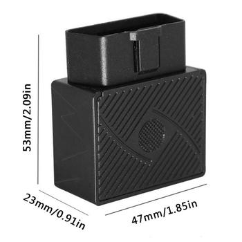 Obd / Obd2 Gsm Car Gps Tracker Gprs Lbs / Gps Position Tracking Locator Real Time Tracking Geo -Fence Overspeed Alarm 5