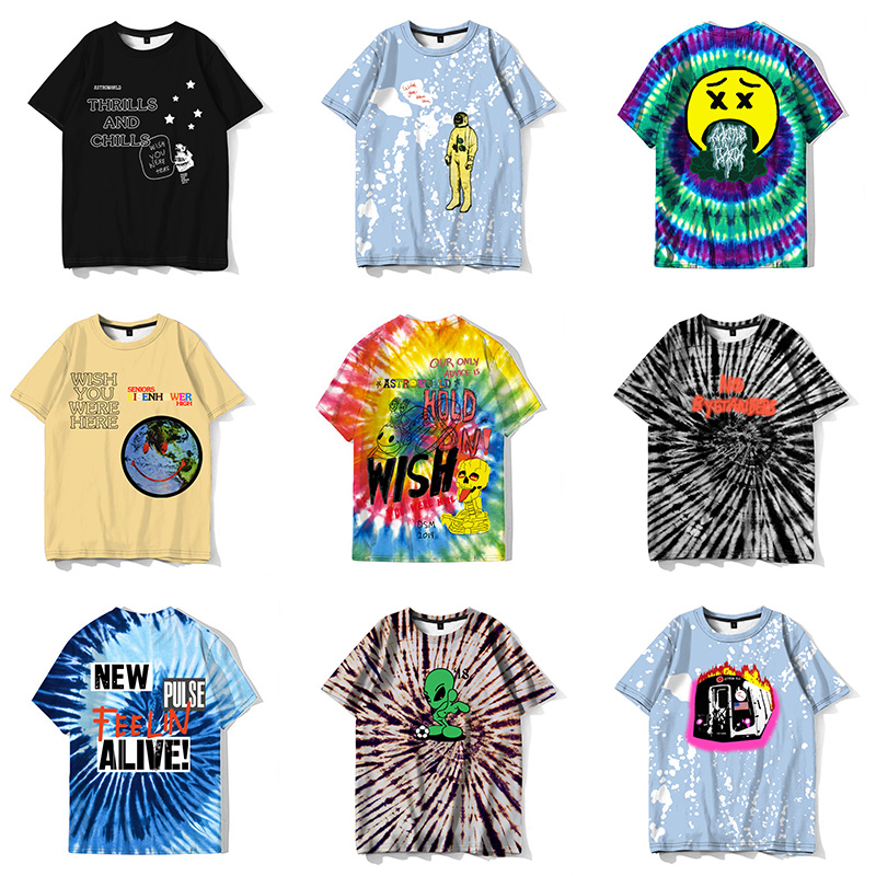 New Fashion Fan Wear Travis Scott Astroworld Funny T-shirt Men Personality Hip Hop Cool Streetwear Hipster Tee Tops Camiseta