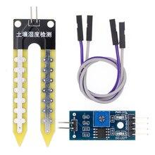 LM393 почвы гигрометр для определения влажности Датчик влажности модуль макетная плата DIY робот умный автомобиль для arduino