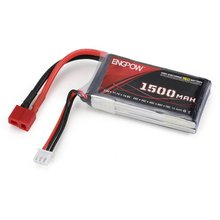 цена на Airtonk Power 7.4V 25C 2S 1P Power Lipo Battery T Plug Rechargeable for RC Racing Drone Quadcopter Helicopter Airplane