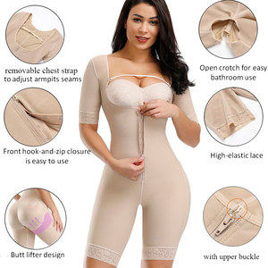 Image 2 - HEXIN Plus Shapewear Workout Waist Trainer Corset Butt lifter Tummy Control Plus Size Booty Lift Pulling Underwear Shaper