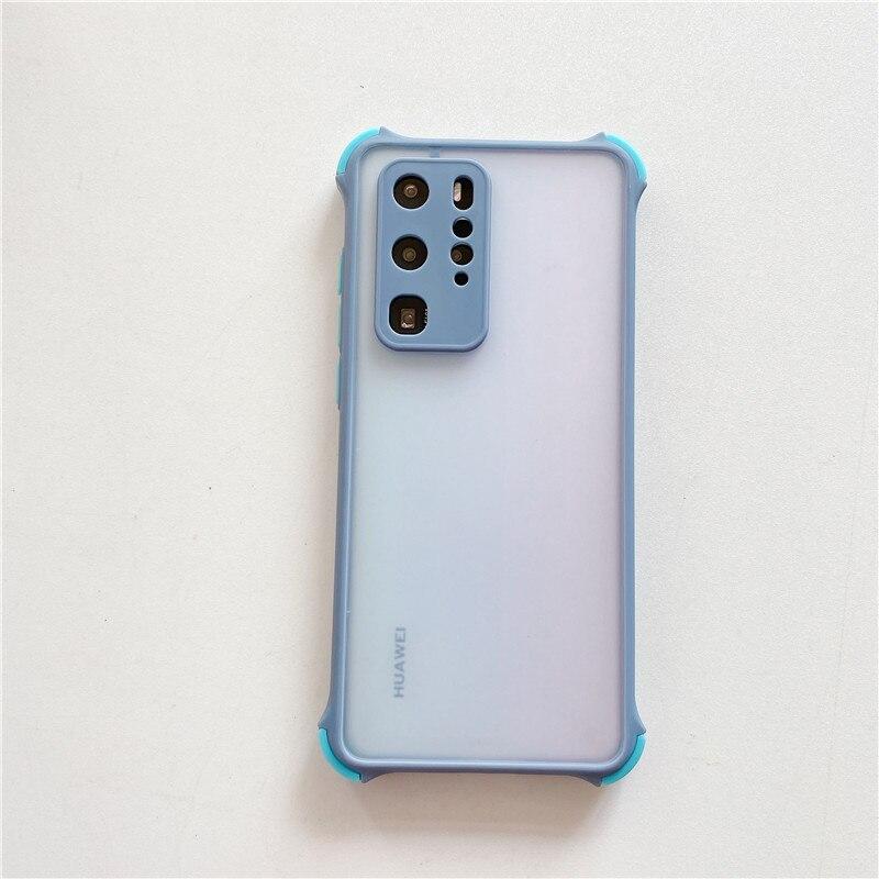 H0df94548bc884b16b8c916957d71c2b0Z Capinha celular case Anti queda caso do telefone na para xiaomi poco f2 x2 m2 pro caso redmi 9 9a 9c 8 8a nota 7 8 9 à prova de choque transparente capa de silicone
