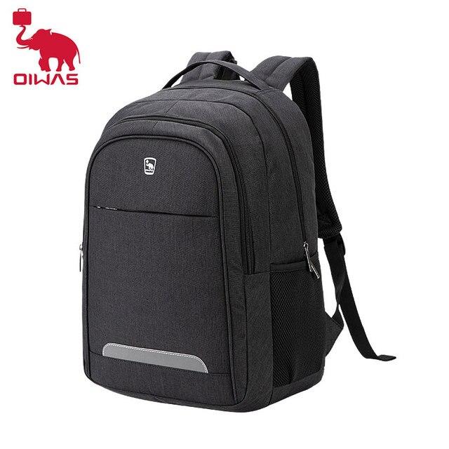 Oiwas водонепроницаемый большой мужской рюкзак, сумки для ноутбука, студенческий рюкзак для подростков, рюкзак для путешествий, школьный рюкзак для мужчин и женщин, мужской рюкзак
