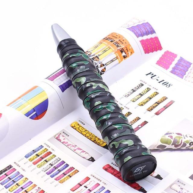 Badminton Racket Tape Anti-skid Hand Glue Sweat Absorbing Camouflage Belt Tape Badminton Racket Cover Tape Non-slip Winding Belt 5