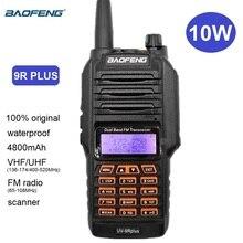 Baofeng UV 9R PLUS 10W Waterproof Walkie Talkie VHF UHF Two Way CB Radio Station Ham Radio Scanner for Hunts UV-9R Transceiver
