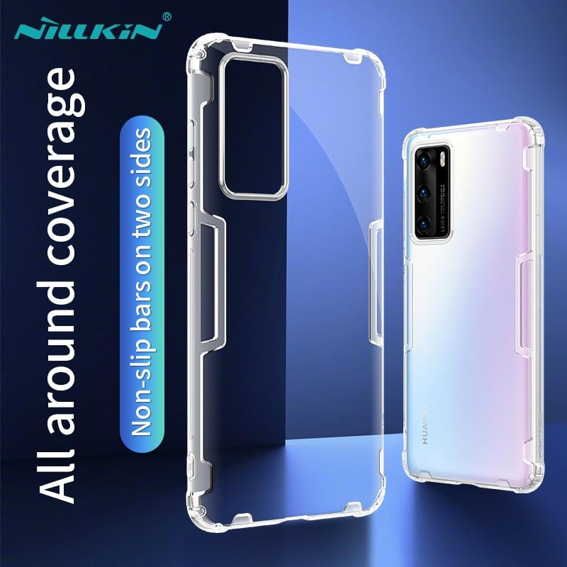 Pentru husa Huawei P40 Husa Huawei P40 Husa NILLKIN Airbag îngroșat - Accesorii și piese pentru telefoane mobile