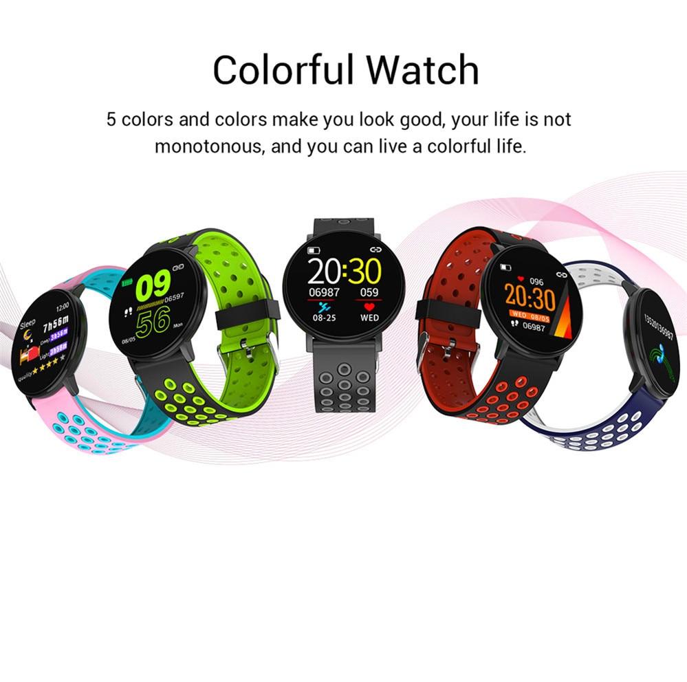 H0dfa1f33ff004476b28bcfe8815b57c4P Smart Fitness Bracelet Blood Pressure Measurement Fitness Tracker Waterproof IP67 Smart Band Watch Heart Rate Monitor Pedometer