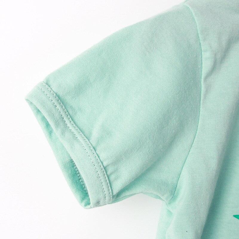 Dress Girls Nightdress Clothes Summer Cartoon Nightgown Children Clothing Short Sleeved Pajamas Dress Kids Homewear 4