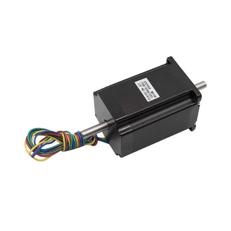RU ES NEMA23 מיקרו מנוע צעד 57x112mm 4-עופרת 4.2A 3A 3N.m Nema 23 428Oz-in עבור 3D מדפסת עבור CNC חריטת מכונת כרסום