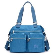 New Arrival Sale Women Shoulder Bag Ladies Handbags Female Travel Messenger Bag Waterproof Nylon Bags Large Pocket Bolsas стоимость