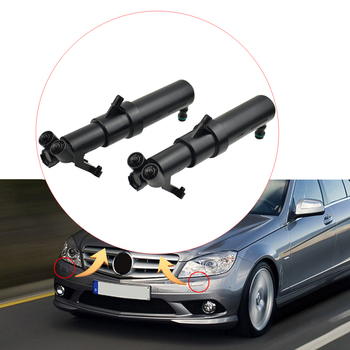 Headlight Cleaning Gun Headlamp Washer Nozzle For Mercedes-Benz C240 C280 C350 C32 C55 AMG W203 Windscreen Wipers image