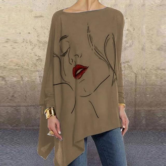 Vintage Woman Autumn Blouse 2