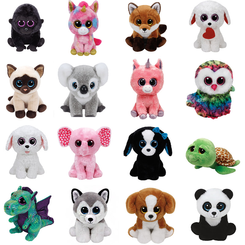 25CM PLUSH TOY  Potion Cat Toucan Bird Fox Cat  Fantasia Snowman Penguin Dinosaur Unicorn Fish Chihuahua Monkey Icy Seal Dragon