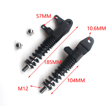 M12 Electric Scooter Hydraulic Front Spring shock absorber for 10 Inch Electric Scooter meijun26 inch 27 5 inch 650b bike mountain bike shock absorber front fork hydraulic lock before the shock absorber oil lock trav