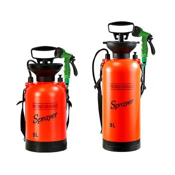 Portable Outdoor Camping Shower Multi-Function Bath Sprayer Watering Flowers Car Washing Small Sprayer For Travel