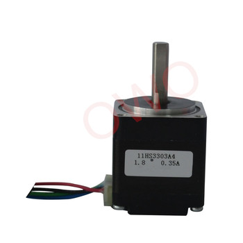 nema11 2phase stepper motor, body length 33mm, holding torque 6N, 0.6A micro stepping motor 28hs3303a4