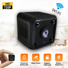 Mini Camera 720P Sensor Built-in Battery Night Vision Camcorder Motion DVR Micro DV Video Small Cam WIFI mini