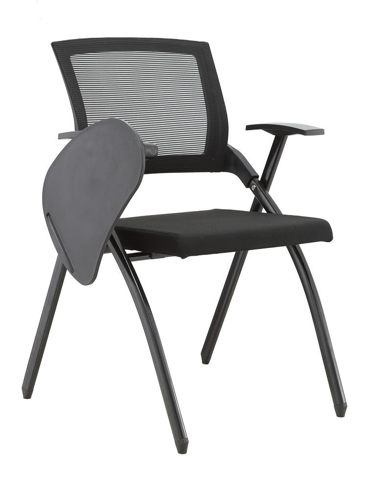 Training Chair With Writing Board Folding Chair One Table Stool Meeting Room Chair Student Conference Chair With Table Board
