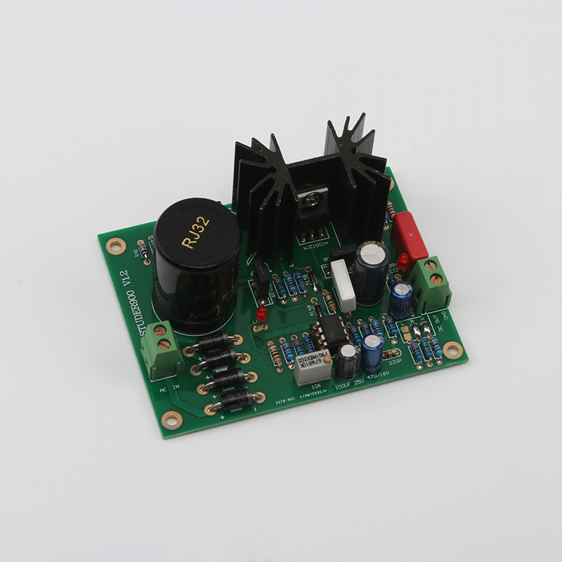 KYYSLB LM317 LT1083 LT1085 Amplifier Power Board Dual Op Amp TL072 DC5-24V STUDER900 Voltage Stabilized Power Board With Heat