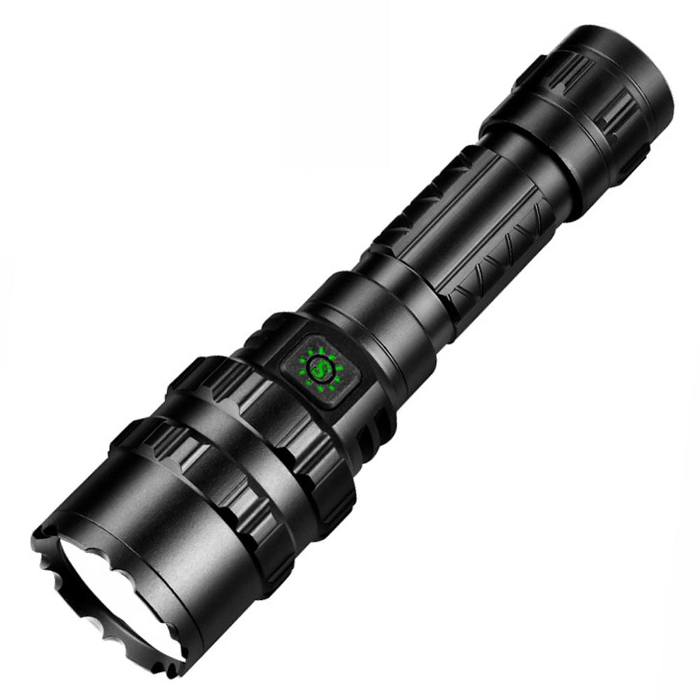 50000 LM L2 Rechargeable Tactical Flashlight LED Torch 5 Modes For Camping(Without Battery)