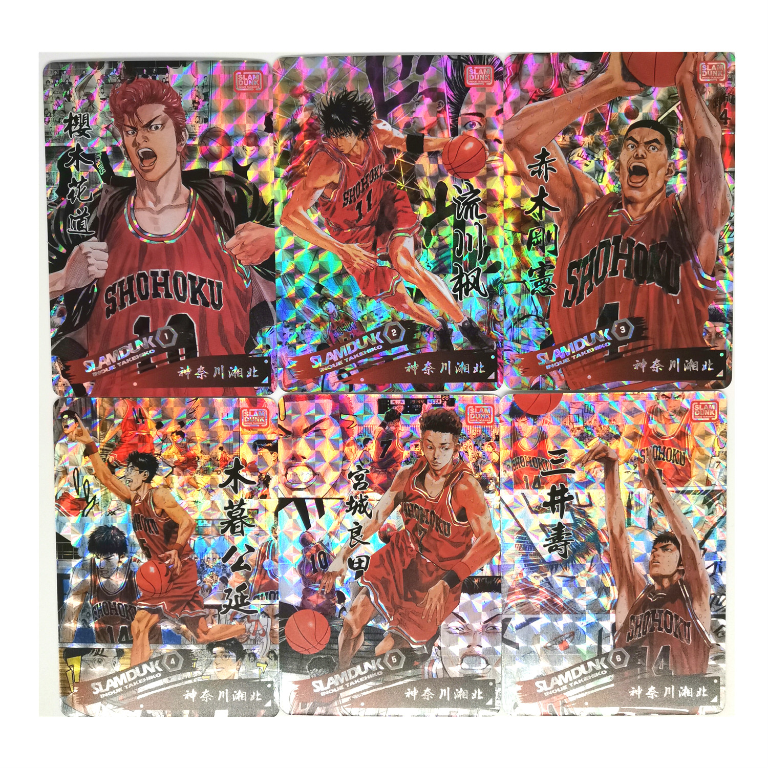 24pcs/set SLAM DUNK Toys Hobbies Hobby Collectibles Game Collection Anime Cards