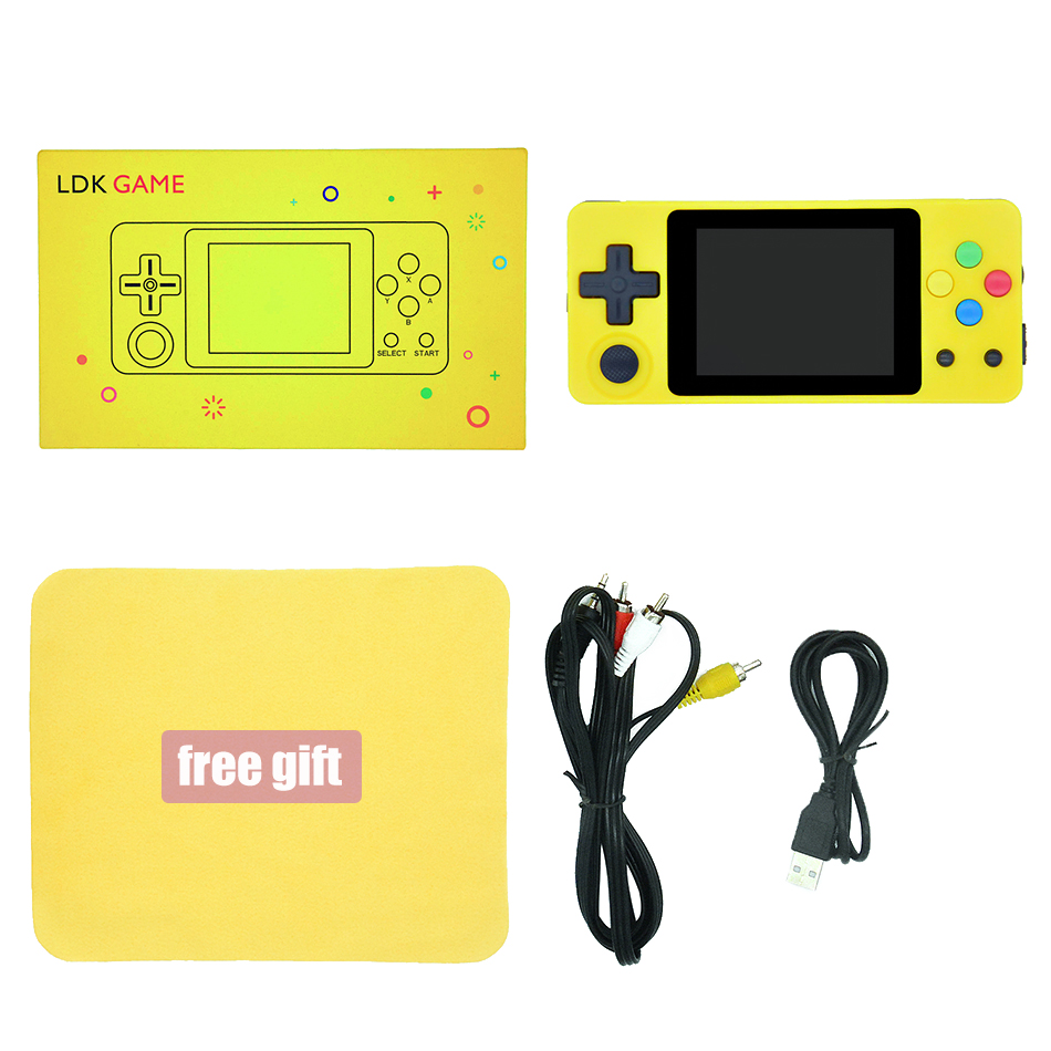 Image 5 - LDK Landscape Version+Tempered glass film, 2.6inch Screen Mini Handheld Game Console.Handle game players. Three colours in stock-in Handheld Game Players from Consumer Electronics