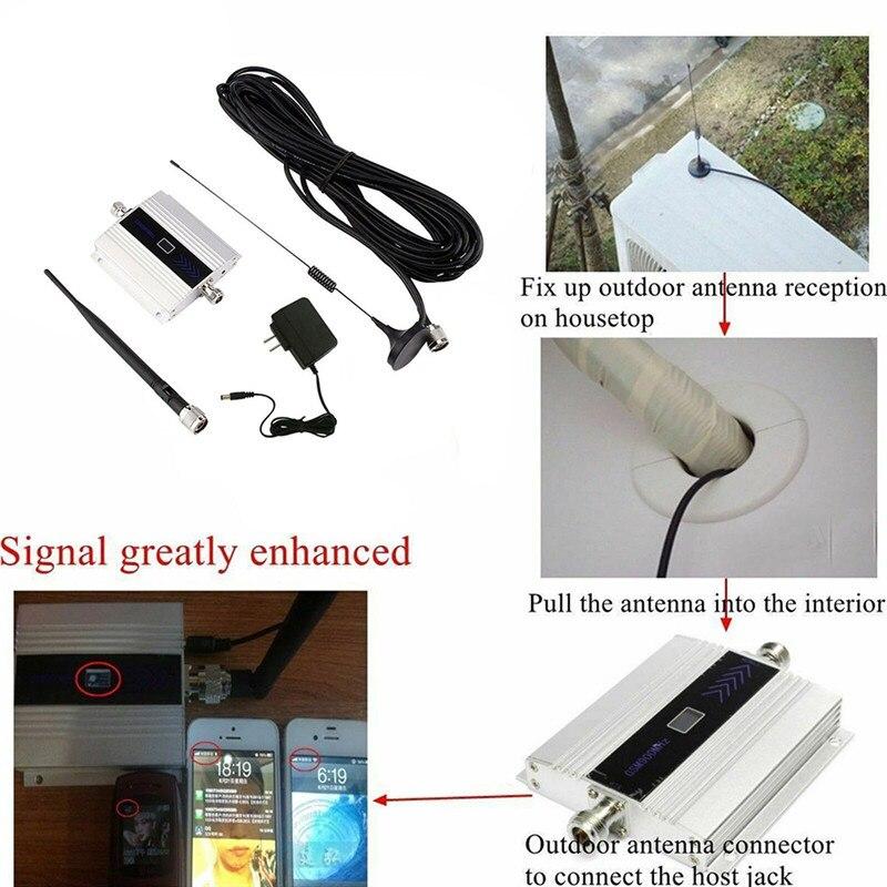 900Mhz GSM 2G/3G/4G Signal Booster Repeater Amplifier Antenna For Mobile Phone,900MHz GSM Amplifier + Antenna, US/EU/UK Plug 3