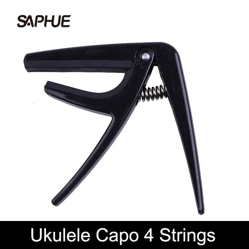 Capo profesional de ukulele cu 4 corzi capo de chitară cu o singură - Instrumente muzicale - Fotografie 1