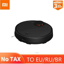 Original XIAOMI 2nd Generation MIJIA Robot Vacuum Cleaner Sweeping Mopping Smart Planned with Water Tank LDS+WiFi APP