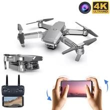 Mini RC drone with 4K camera wide angle 1080P HD WIFI FPV E68 Quadcopter Model electronics Professional selfie dron Toys boys