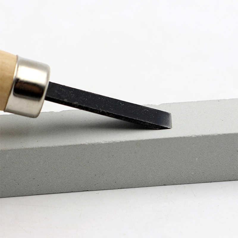 12 יח'\סט עץ גילוף סט חיתוך עץ גילוף סכין כלים האחרון יד אזמל נגרות מקצועי מחרטה חריצים כלים עם תיק