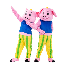 Pink  Mascot Costume Fancy holloween Party Dress Adult Size Birthday party outfit cosplay