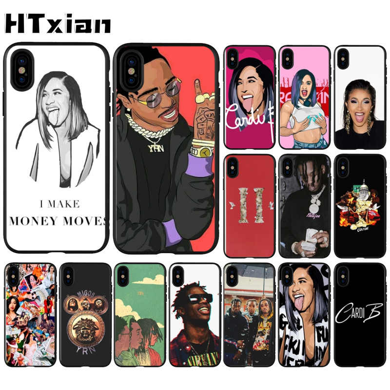 coque iphone 8 cardi b