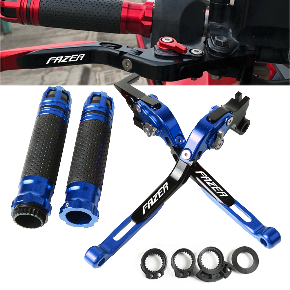 Motorcycle Adjustable Foldable Handle Levers Brake Clutch For <font><b>YAMAHA</b></font> FAZER600 <font><b>FAZER</b></font> <font><b>600</b></font> FZ6S/FZ6N 1998-2003 2002 2001 <font><b>2000</b></font> 1999 image