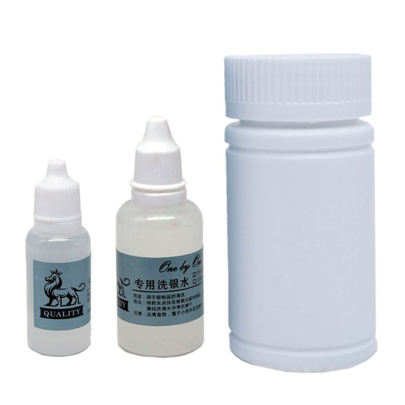 Gentle Jewelry Cleaner Solution Gold Silver Fine & Fashion Jewelry Cleaning Hydrogen Peroxide