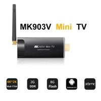 MK903V Android 7.1 TV Stick RK3288 Quad Core 2GB Ram 8GB Rom HDMI 4K*2K H.265 2.4GHz/5GHz Dual WiFi OTG USB 1080P TV Dongle