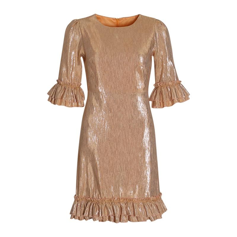 Dzisiejsza Neck sukienka TWOTWINSTYLE 8